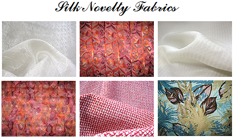 Silk Novelty fabrics