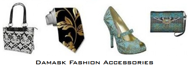 damask for accessories