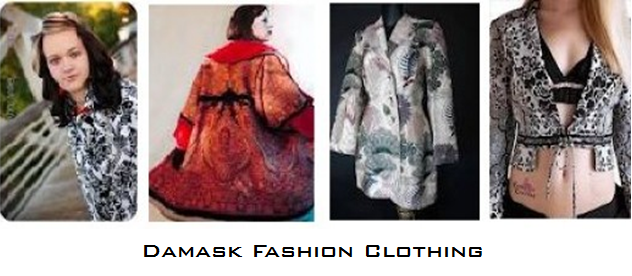 damask for fashion